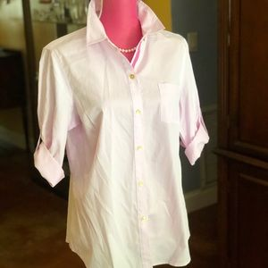 Classic Jones of NY NWT Pink button down sz L